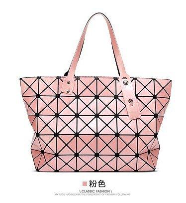 Borsa Pink Diamond Piegatura Geometrica Meoaeo Orange tqzpzw