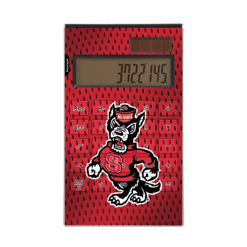 North Carolina State Wolfpack Desktop Calculator NCAA