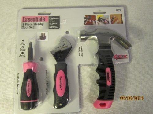 Essentials 3 Piece Stubby Tool Set