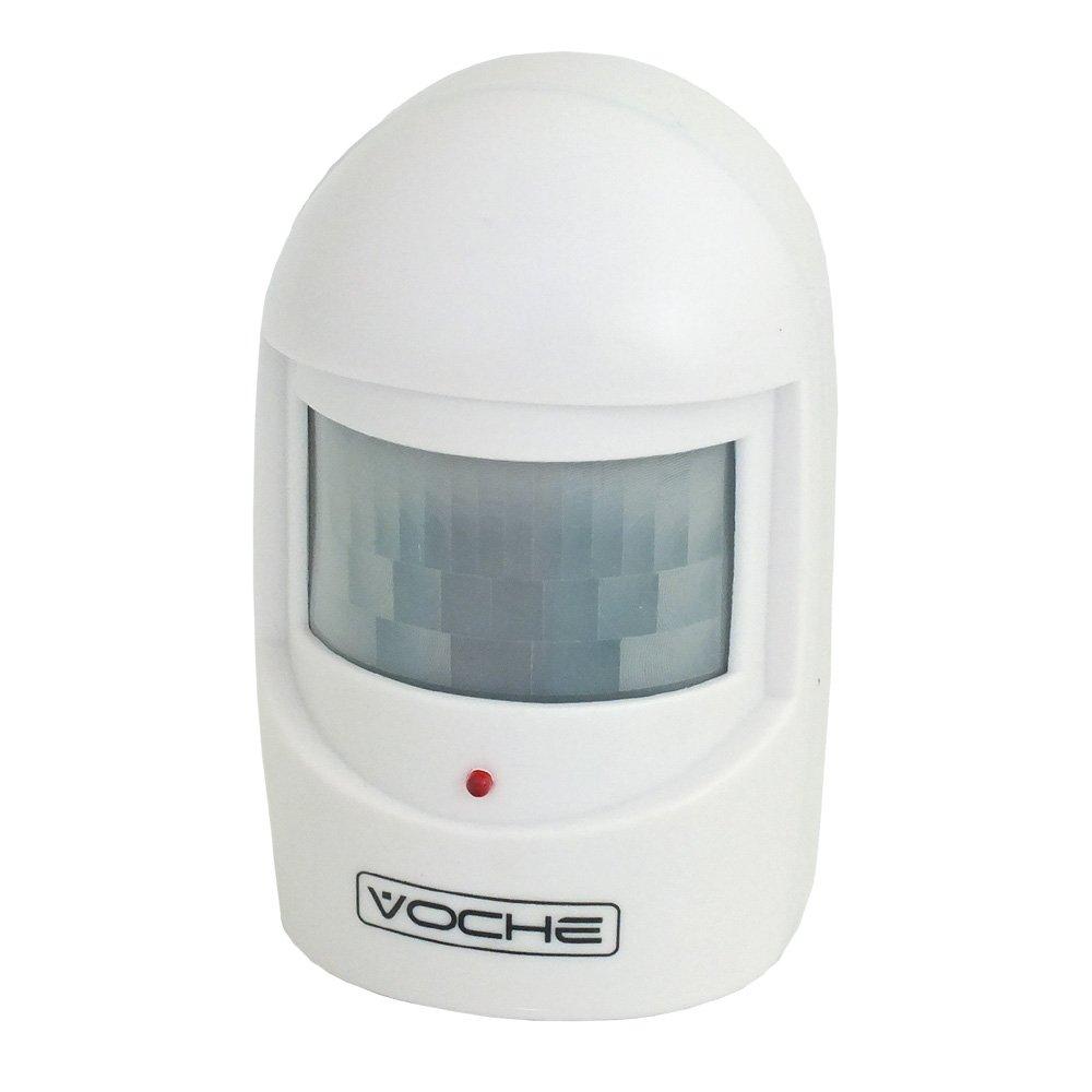 Wireless Driveway Security Intruder Alert Alarm System With Pir Shadow Sensor Motion Diy Tools