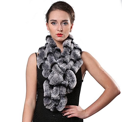 FURTALK Flower Rabbit Scarf Women product image