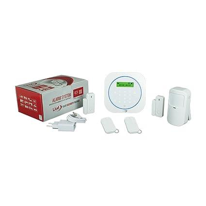 Kit de alarma antirrobo para casa, inalámbrico, controlable ...