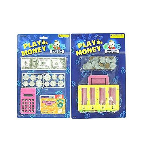 Play Money Set - Case of 96 by bulk buys