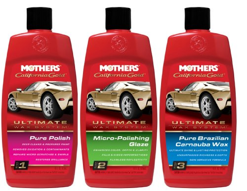 Mothers Ultimate Wax System (w/Liquid Wax) (Wax System Ultimate)