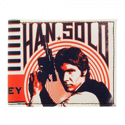 Star Wars Han Solo Im in it for the Money Adult Bi-Fold Wallet Bioworld MQ44RUSTW