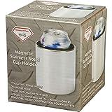 Magnetic Stainless Steel Cup Holder Beer Koozie Can Bottle Drink Atv Rv Boat