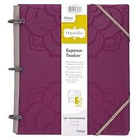 "Mead Organizher Expense Tracker, Planificador de presupuestos, Organizador de facturas, 8-1 /2 ""x 11"", Polietileno, Púrpura (64047)"