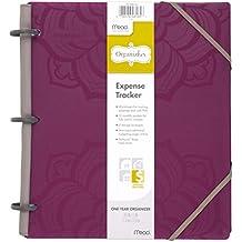 "Mead Organizher Expense Tracker, Budget Planner, Bill Organizer, 8-1/2"" x 11"", Poly, Purple (64047)"
