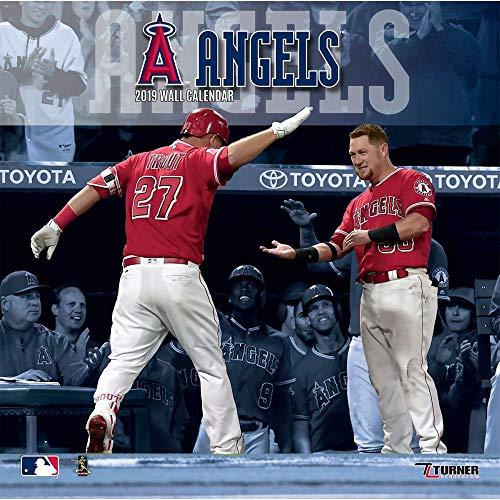 2019 Los Angeles Angels Wall Calendar, More Baseball by Turner Licensing