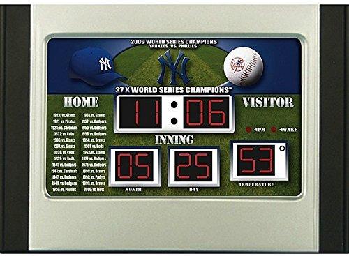 Yankees Scoreboard Alarm - 5