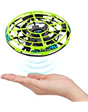 UFO Mini Drone, Epoch Air Kids Toys Hand Controlled Helicopter RC Quadcopter Infrared Induction Remote Control Flying Toys Aircraft Games Presents for Boys Girls Adults Indoor Outdoor Garden Ball Toys