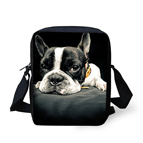 french bulldog messenger bag - 6