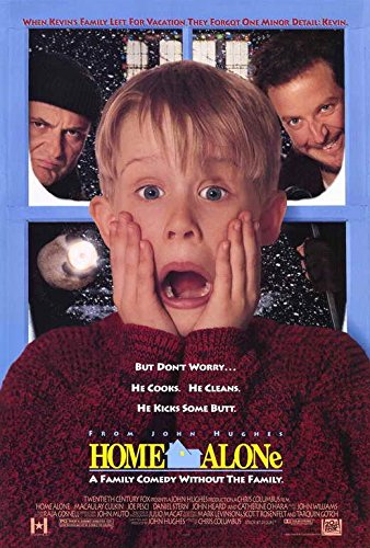 Home Alone Movie POSTER 27 x 40, Macaulay Culkin, Joe Pesci, A, MADE IN THE U.S.A.