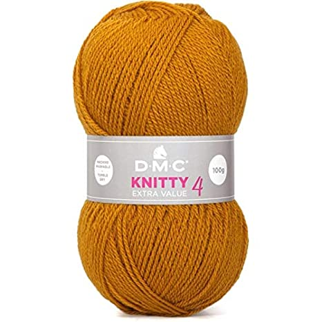 7f2044b0c3ef DMC Laine KNITTY 4 833 Rouge