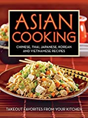 Skip delivery and make your favorite Asian takeout dishes at home tonight!It's easier than you think, and you'll be amazed with the results. All the classics are included: Fried Rice, Kung Pao Chicken, Egg Rolls, Pot Stickers, Pad Thai...