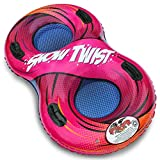 """Flexible Flyer Snow Twist 2-Person Inflatable Tube. Double Sled Slider, 57"""""""