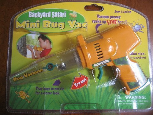 Backyard Safari Mini Bug Vac - Yellow