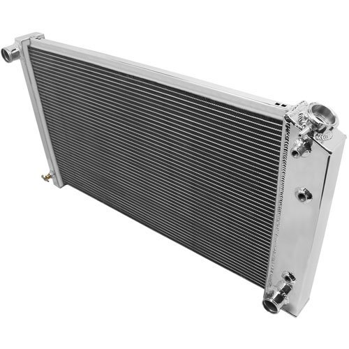 4 Row All Aluminum Replacement Radiator for Many GM Models: Buick, Cadillac, Chevy, Oldsmobile and Pontiac