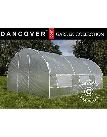 Dancover Invernadero túnel 3x4,5x2m, 13,5m², Traslúcido