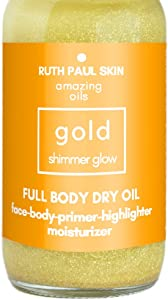 Sweepstakes: Glowing Body Oil For Women - Moisturizing Shimmer Body Oil...
