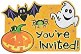 "Family Friendly Halloween Scared Silly Invitations Party Favour, Paper, 6"" x 4"" Pack of 20"