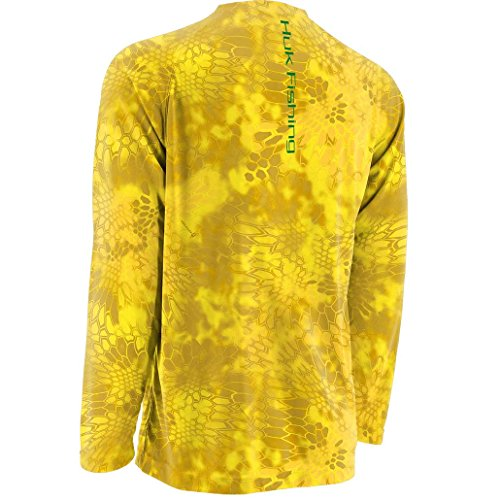 Huk Fishing Krypek Solid Raglan Long Sleeve