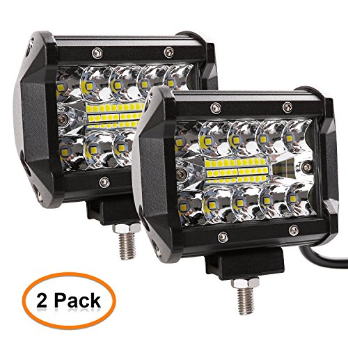 Zmoon-Led-Light-Bar-2Pcs-120W-12000lm-Aluminum-Alloy-Die-casting-Shell-Led-Spotlight-Off-Road-Lights-Super-Bright-Flood-Driving-Light-for-SUV-Jeep-Boat