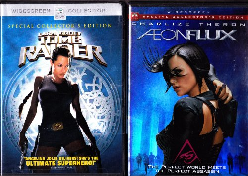 Aeonflux , Lara Croft Tomb Raider : Female Action 2 Pack
