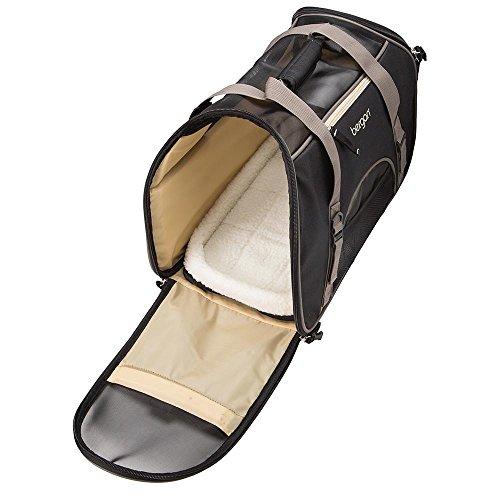 """Bergan Comfort Carrier for Pets, Brown and Black, Large 19""""L x 10""""W x 13""""H from Bergan"""