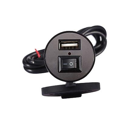 Cargador de teléfono para motocicleta - 1 PC de USB ...
