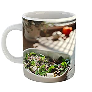 Westlake Art - Food Vegetable - 11oz Coffee Cup Mug - Modern Picture Photography Artwork Home Office Birthday Gift - 11 Ounce (125B-2E8B9)