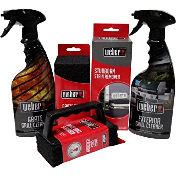 weber grill cleaning kit grill spray cleaner stainless steel polish grill. Black Bedroom Furniture Sets. Home Design Ideas