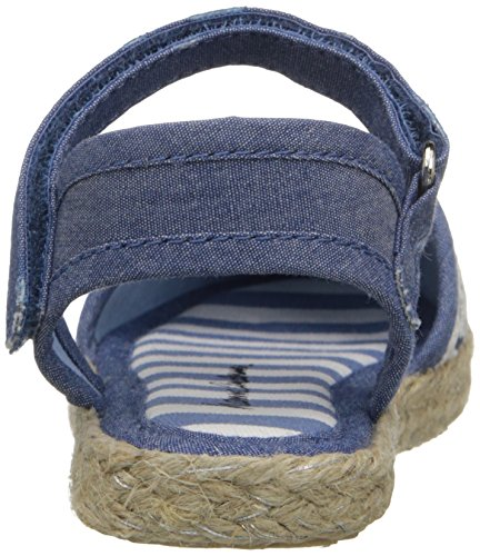 Hanna Andersson Paulina Girl's Espadrille(Toddler/Little Kid/Big Kid), Chambray, 8 M US Toddler by Hanna Andersson (Image #2)