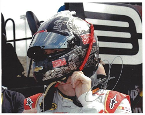 AUTOGRAPHED Dale Earnhardt Jr. #88 National Guard Racing CUSTOM SKULL DRIVER HELMET (Pre-Race Pit Road) Hendrick Motorsports Signed Collectible Picture NASCAR 8X10 Inch Matte Photo with COA