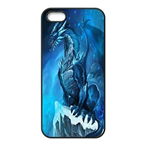 For Apple Iphone 5 5S Cases Flying Dragon Pattern Protective Back Case-Style-2