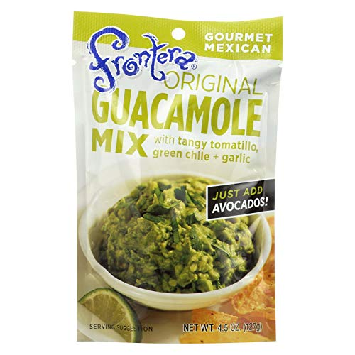 Frontera Foods Original Guacamole Mix - Guacamole Mix - Case of 8 - 4.5 oz.