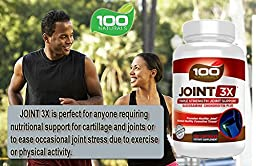 100 Naturals Joint 3X Triplex Strength Joint Support