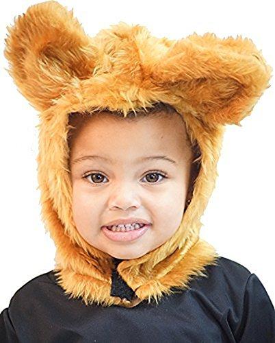 Karnival World Book Day-Teddy Bears Picnic-Animals-Goldilocks-Three Bears Brown Bear Hood Perfect -