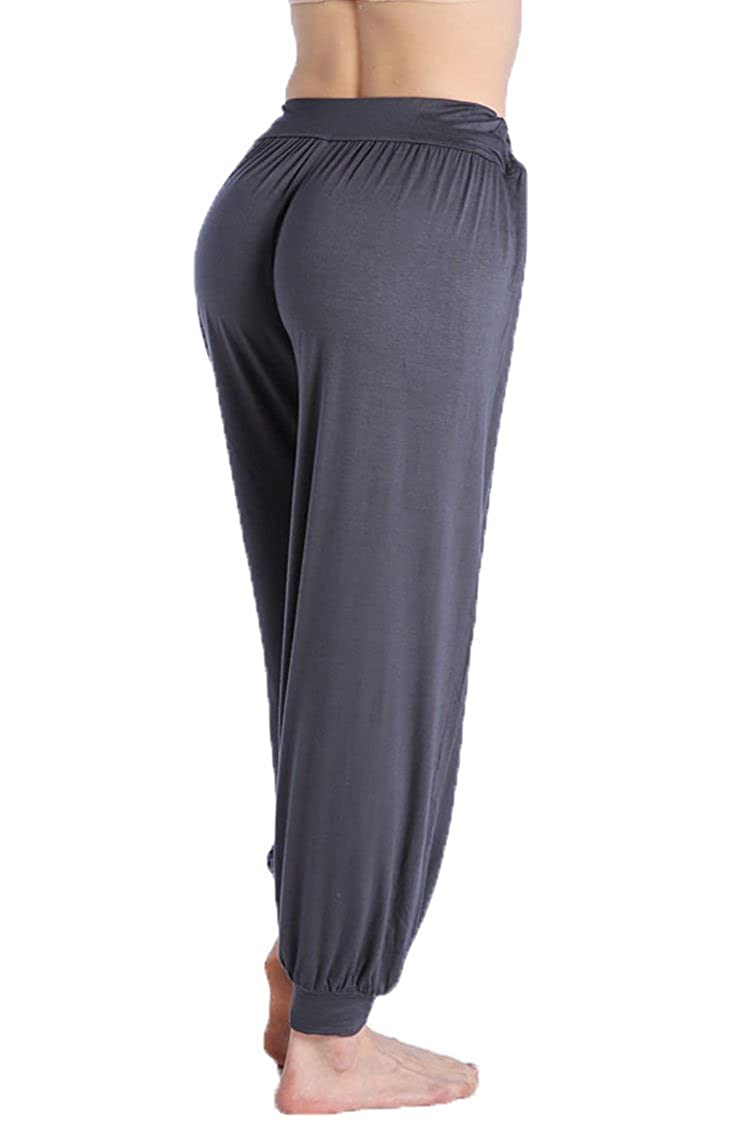 Women Harem Pants Yoga Dance Fitness Sport Pilates Baggy Pants Casual Trousers