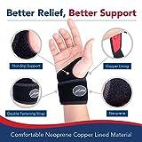 Doctor Developed Copper Wrist Brace / Carpal Tunnel