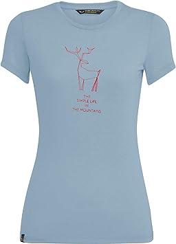 Camiseta Mujer SALEWA Deer Dri-rel W S//S tee