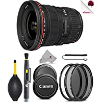Canon EF 16-35mm f/2.8L II USM Lens (1910B002) USA - Full Accessory Basic Lens Bundle Package Deal