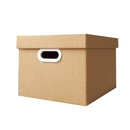 KKCF-HE Cajas De Cartón 3 Capas Corrugadas con Cubierta Manija De Plastico Paquete Plano