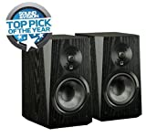 SVS Ultra Bookshelf Speaker (Pr) Black Oak