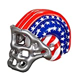 WIDMANN 04867–Inflatable Football Helmet with American Stars and Stripes, One Size