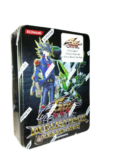 YuGiOh 5Ds 2011 Duelist Pack Collection Tin Frozen Fitzgerald, Underground Arachnid, Zeman the Ape King Hundred Eyes - Pack Duelist Tin Collection