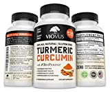 VIOVUS | Turmeric Curcumin with Bioperine Best Joint Pain Relief | Anti-Inflammatory, Antioxidant Supplement | 10mg of Black Pepper for Better Absorption | 100% All Natural Non-GMO Made in USA Review
