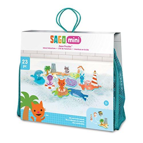 - Sago Mini - Aqua Puzzles Island Adventure Bath Game for Kids