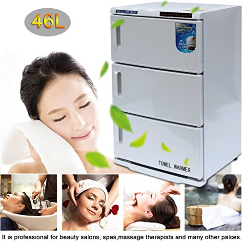 2 In 1 Disinfection Cabinet, Spa Sterilizer Machine For Beauty Salon Spa Massage (46L) by Water-chestnut (Image #2)