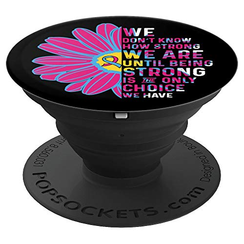 Pregnancy Infant Loss Awareness Ribbons Mobile Stand - PopSockets Grip and Stand for Phones and Tablets]()